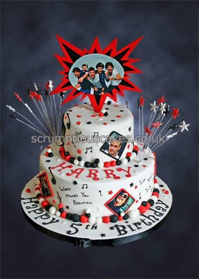 One Direction Birthday Cake One Direction Birthday Cake Childrens Party Ideas