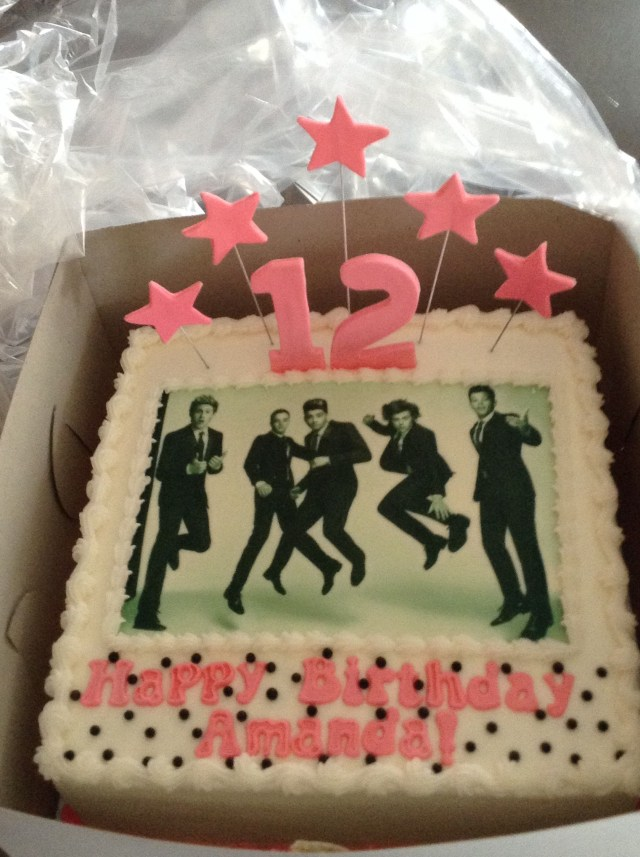 One Direction Birthday Cake One Direction Birthday Cakes One Direction Cakes Pinterest One