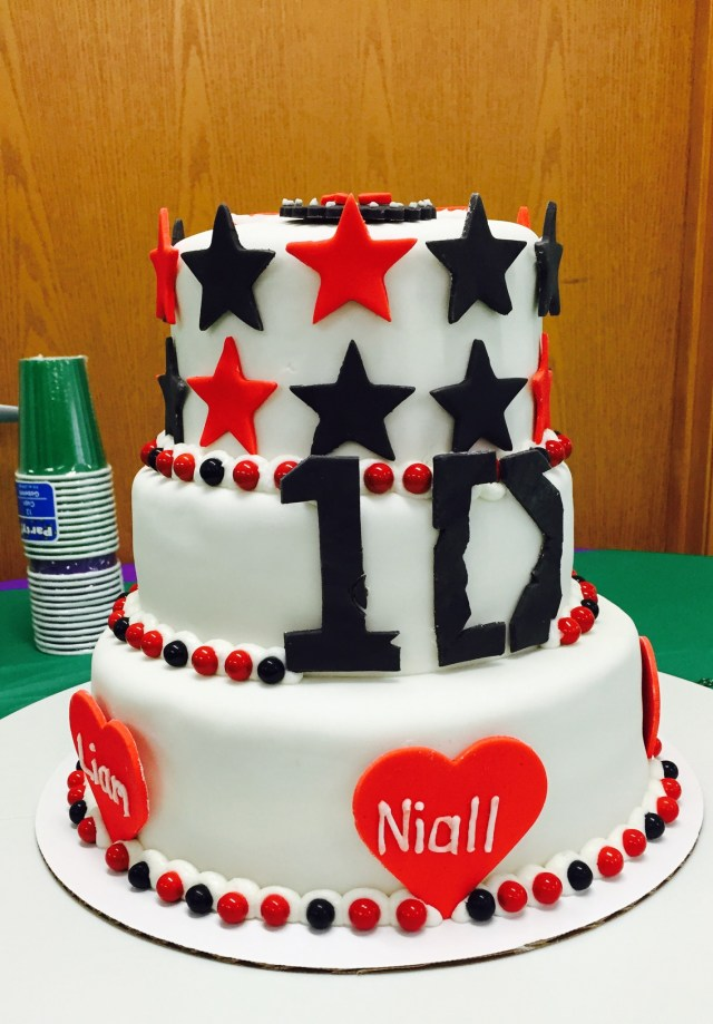 One Direction Birthday Cake One Direction Cake My Crazy Blessed Life