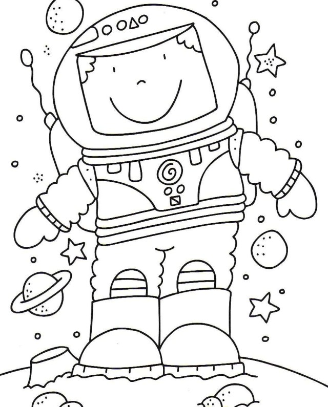 Marvelous Picture of Outer Space Coloring Pages ...