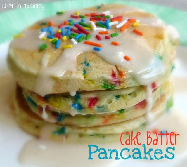 Pancake Birthday Cake 6 Batter Pancakes Photo