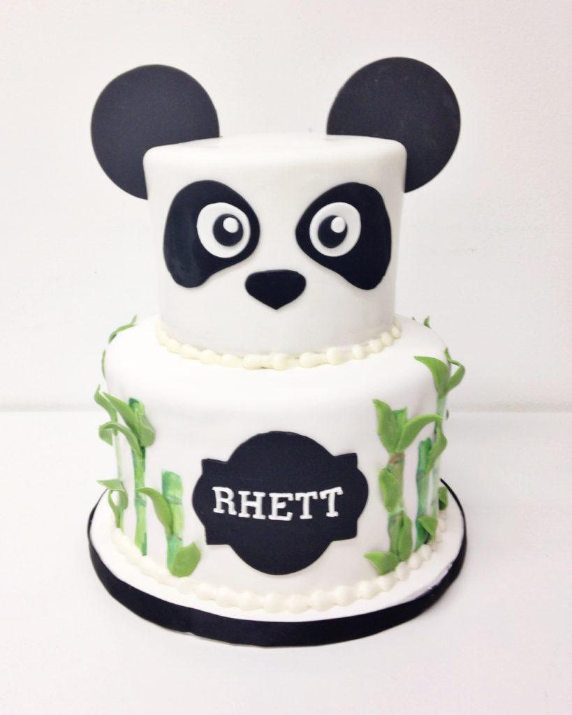 Panda Birthday Cake Nashville Sweets Bamboo