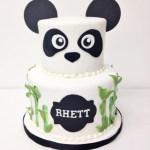 Panda Birthday Cake Nashville Sweets Panda Bamboo Birthday Cake