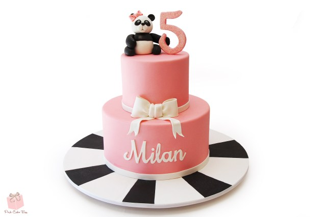 Panda Birthday Cake Panda Birthday Cake