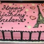 Paris Birthday Cake Paris Inspired Birthday Cake Wwwsamantha Sweets Paris Cake