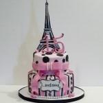 Paris Birthday Cake Paris Theme Birthday Cake Cakecentral