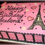 Paris Birthday Cake Samanthas Sweets And Sams Sweet Art Birthday Cake Photo Gallery