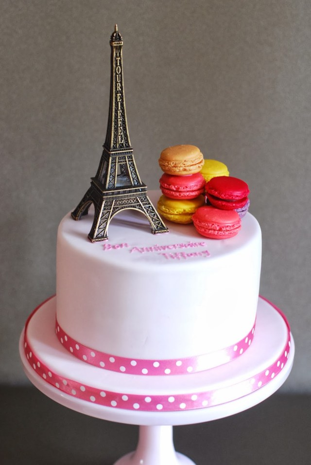 Paris Birthday Cakes Paris Birthday Cake Archives Afternoon Crumbs