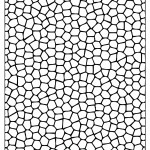 Pattern Coloring Pages Mosaic Tiles Pattern Coloring Page Free Printable Coloring Pages