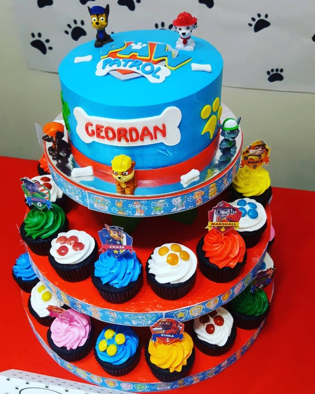 Paw Patrol Birthday Cake Toppers A Simple Paw Patrol Themed Birthday Celebration Hands On Parent