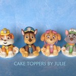 Paw Patrol Birthday Cake Toppers Custom Cakes Julie Paw Patrol Inspired Toppers Gabriel Paw
