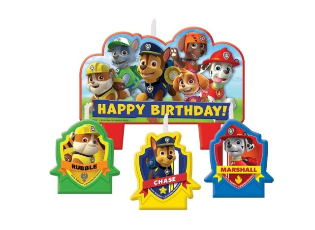 Paw Patrol Birthday Cake Toppers Paw Patrol Party Supplies Sweet Pea Parties