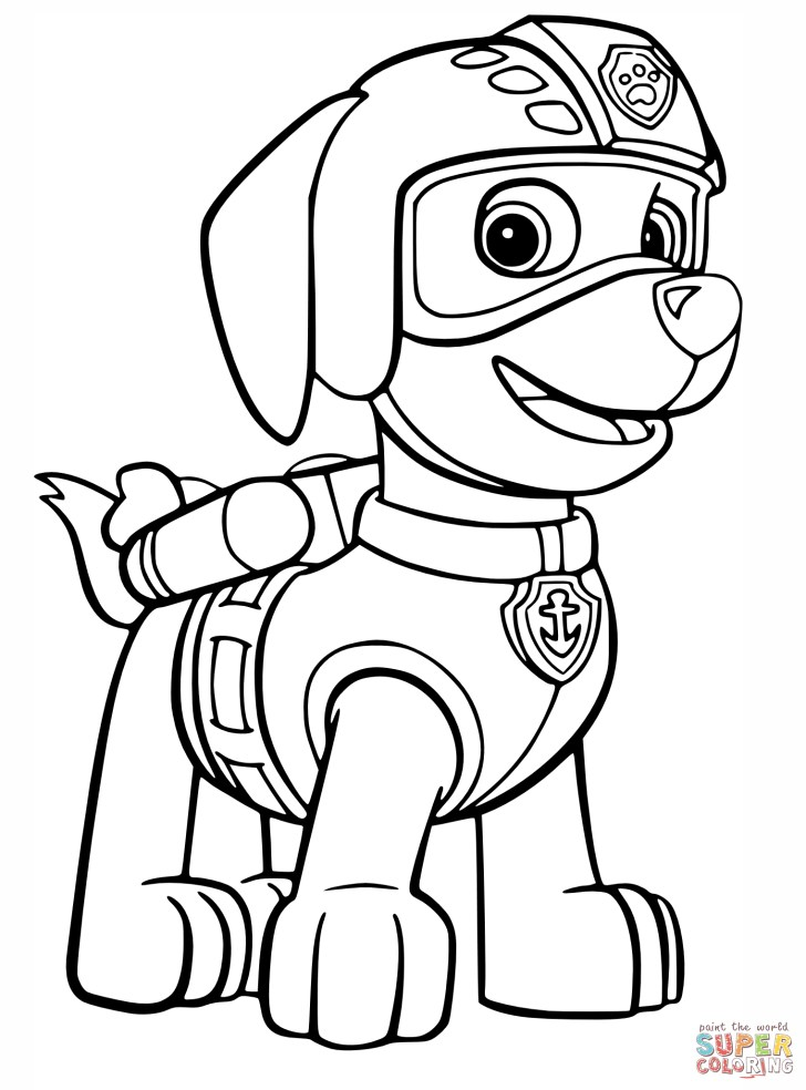 30+ Amazing Photo of Paw Patrol Coloring Pages