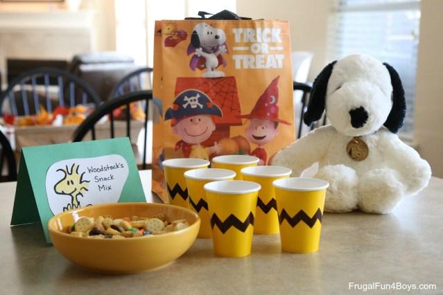 Peanuts Birthday Cake Fun Food Ideas For A Peanuts Birthday Party Frugal Fun For Boys