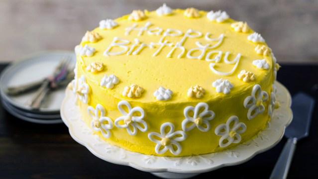 Photo Birthday Cake Birthday Cake Recipe Bbc Food