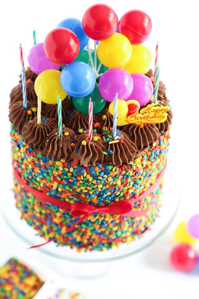 Photo Birthday Cake The Birthday Cake Sprinkle Bakes