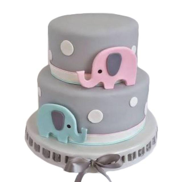 Picture Of Birthday Cakes Elephant Birthday Cake