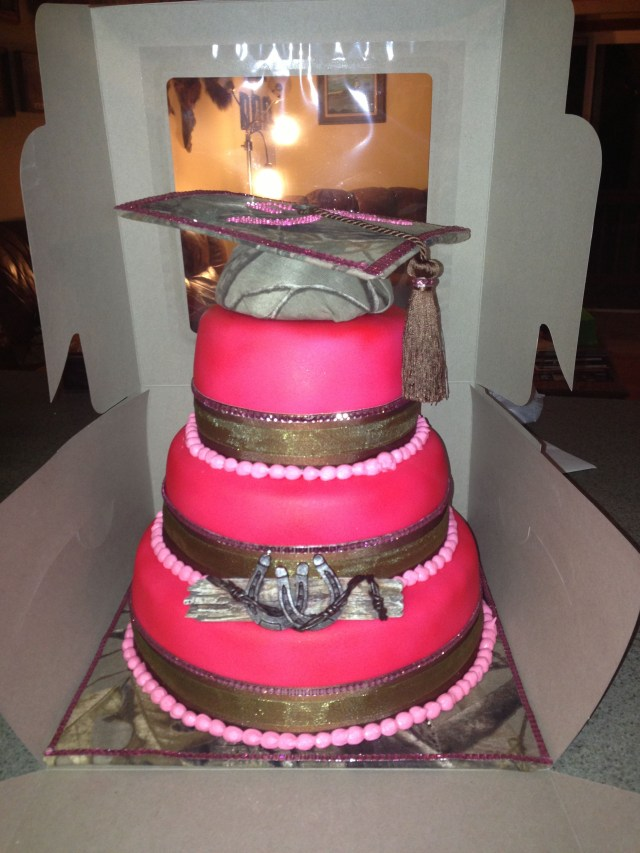 Pink Camo Birthday Cakes Browning Realtree Girls Cake Girls Birthday Cake Camo Cake Pink