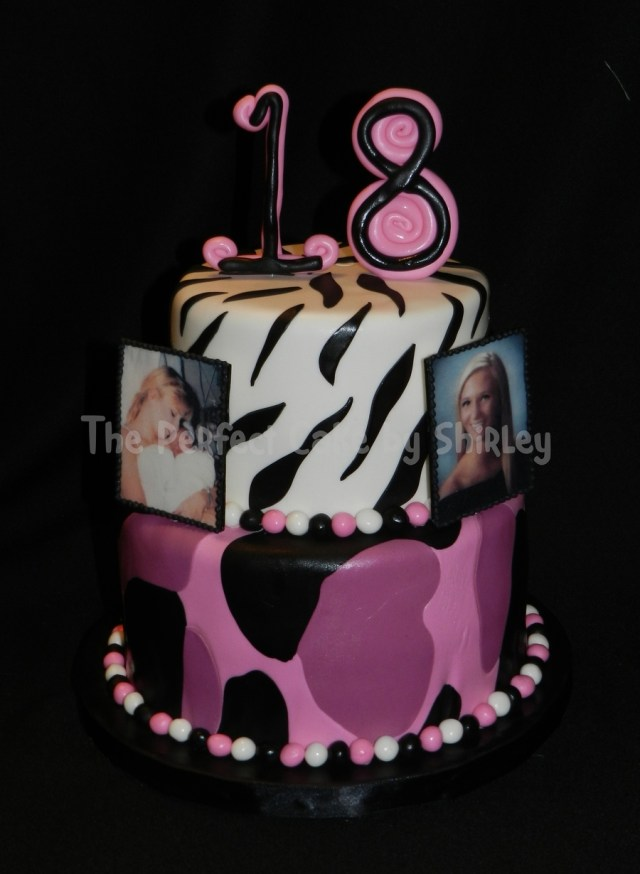 Pink Camo Birthday Cakes Pink Camo 18th Birthday Cake Cakecentral