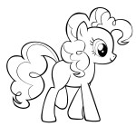 Pinkie Pie Coloring Pages Pinkie Pie Coloring Pages Best Coloring Pages For Kids