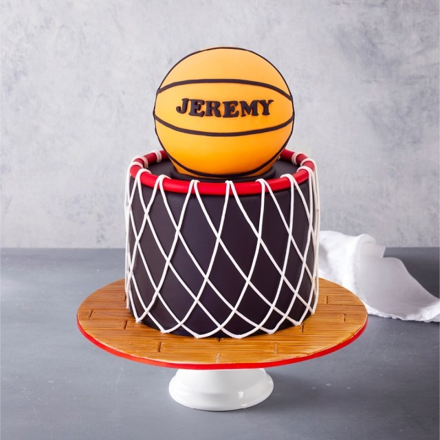 Polo Birthday Cake Basketball Birthday Cake