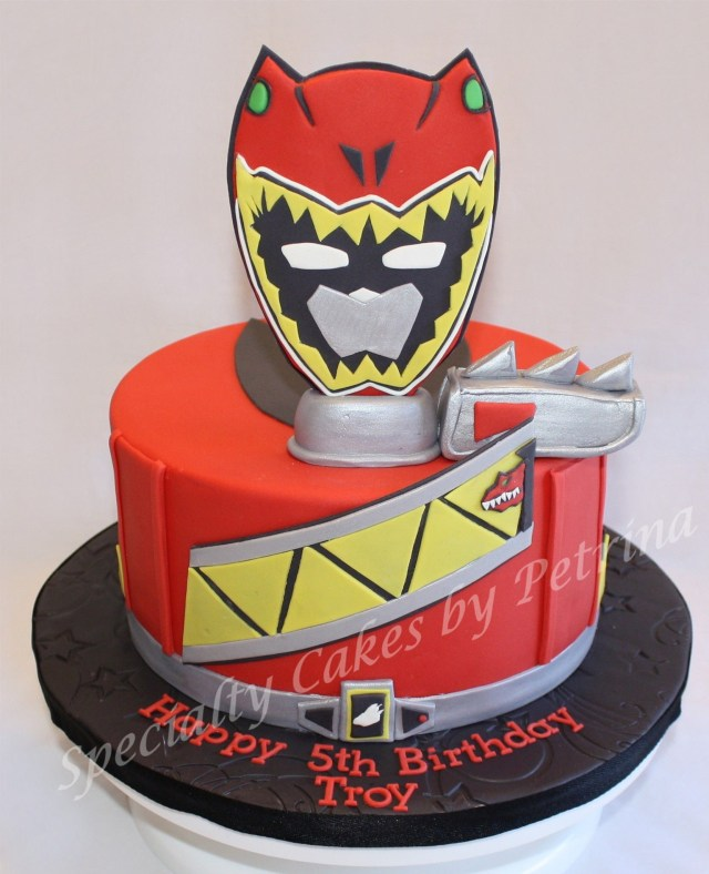 Power Ranger Birthday Cakes Dino Charge Power Ranger Cake Birthday Pinterest Power Ranger