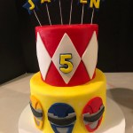 Power Ranger Birthday Cakes Frosted Insanity Power Rangers Cake For Icing Smiles
