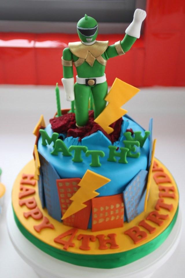 Power Ranger Birthday Cakes Power Ranger Cake Cakes And Cupcakes For Kids Birthday Party