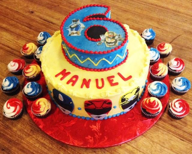 Power Ranger Birthday Cakes Power Rangers 6th Birthday Cake For A Boy Jude Christopher In