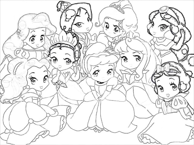 Princess Coloring Page Princess Coloring Pages O Telematik Institut