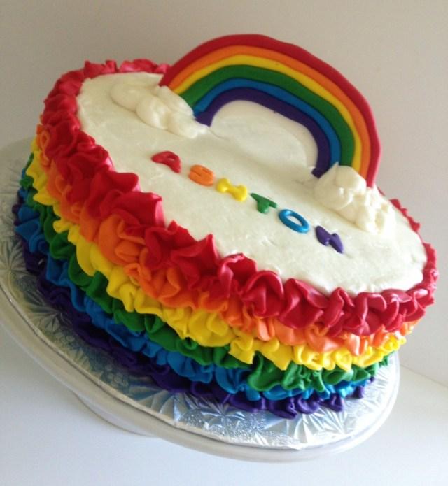 Rainbow Birthday Cake Rainbow Birthday Cake Live Love Bake