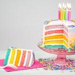 Rainbow Birthday Cake Rainbow Cake Recipes Goodtoknow
