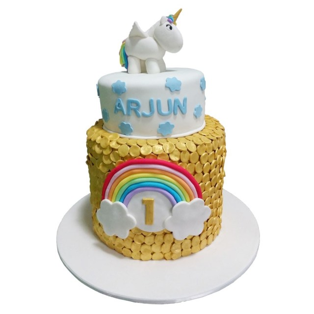 Rainbow Birthday Cakes Unicorns Rainbow Birthday Cake