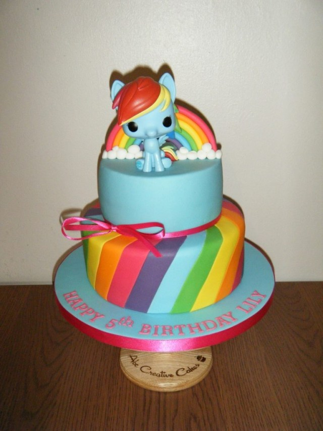 Rainbow Dash Birthday Cake Birthday Cakes Childrens Abc Creative Cakesabc Creative Cakes