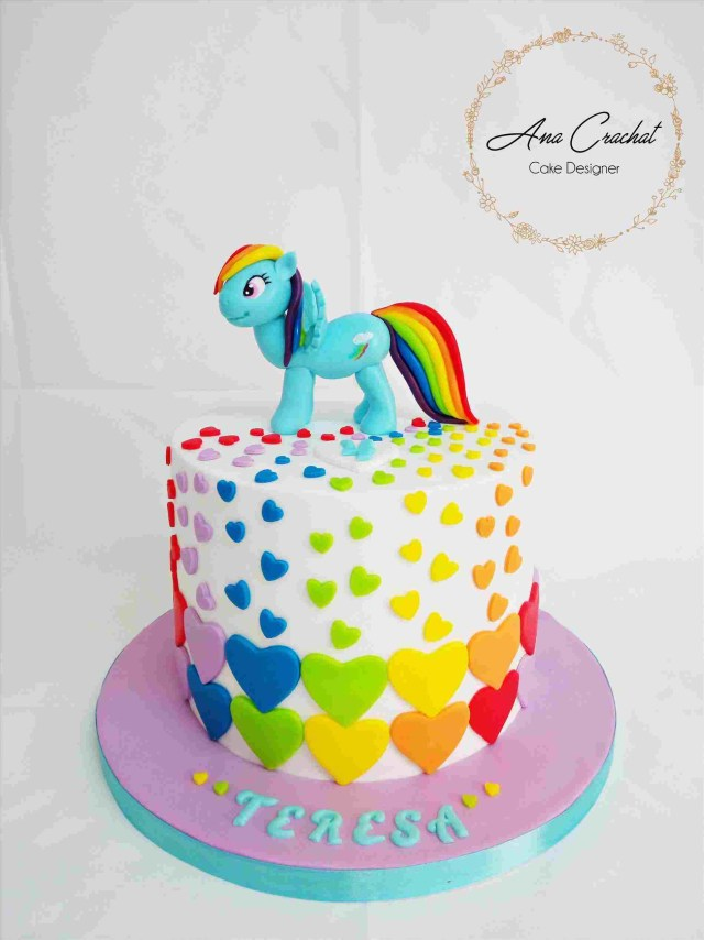 Rainbow Dash Birthday Cake Design Rainbow Dash Rhpinterestcom The Sweet Life Nd