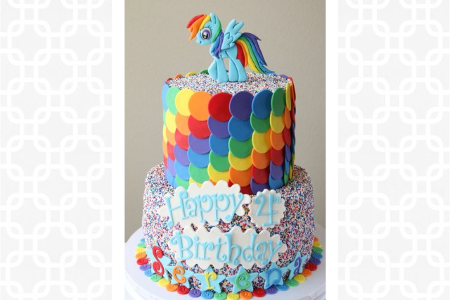 Rainbow Dash Birthday Cake Rainbow Dash Cake Rebecca Cakes Bakes