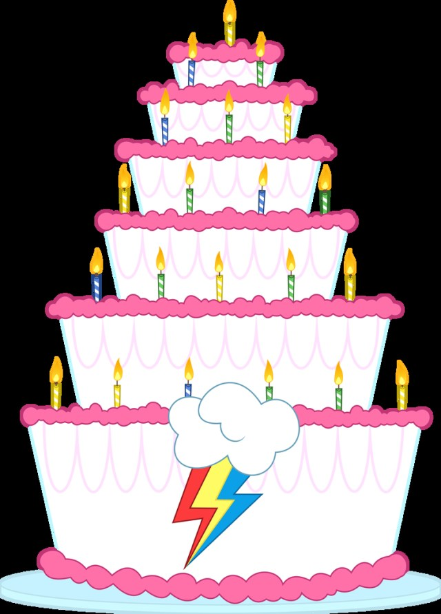 Rainbow Dash Birthday Cake Rainbow Dashs Birthday Cake Dasprid On Deviantart