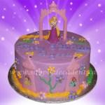 Rapunzel Birthday Cake Disney Tangled Rapunzel Decopac Birthday Cake Cakecentral