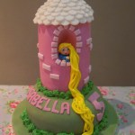 Rapunzel Birthday Cake Eileen Atkinsons Celebration Cakes Rapunzel In Her Tower Birthday Cake