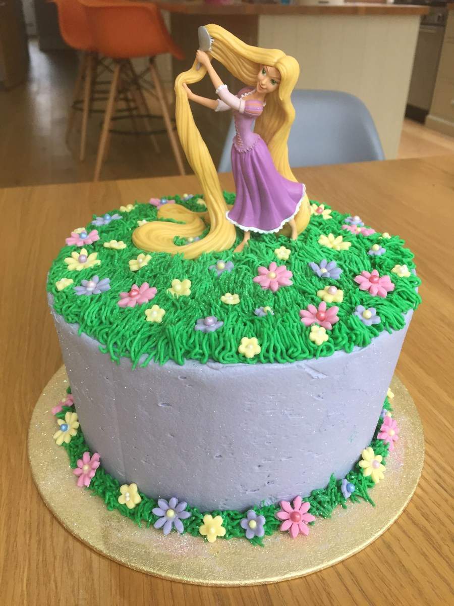 32+ Excellent Photo of Rapunzel Birthday Cake