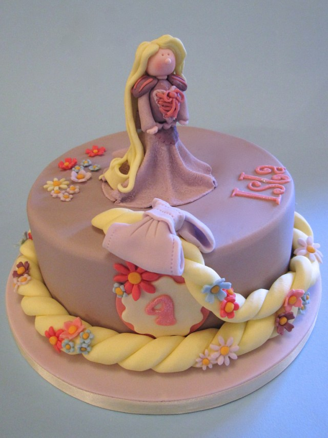Rapunzel Birthday Cake Rapunzel Birthday Cake Rapunzel Rapunzel Let Down Yo Flickr