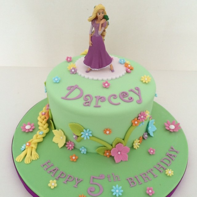 Rapunzel Birthday Cake Rapunzel Cake