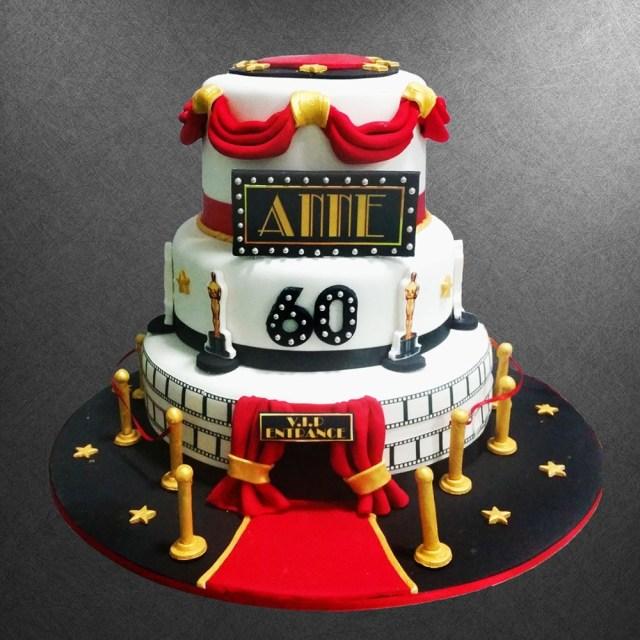Red Birthday Cake Vip Birthday Cake