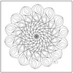 Relaxing Coloring Pages Mandala Relaxation Coloring Page Coloring Home