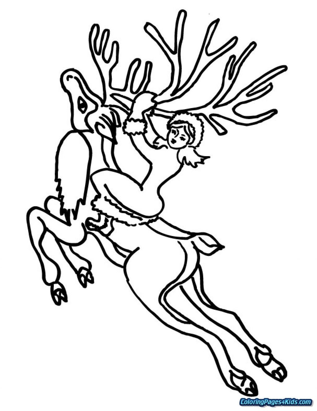 Rudolph Coloring Page Coloring Pages Rudolph The Red Nosed Reindeer ...