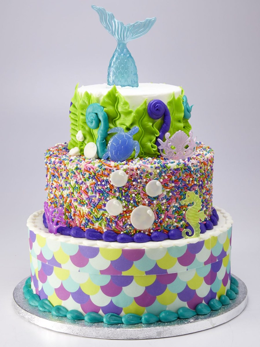 Sams Club Birthday Cake You Can Get A 3 Tier Mermaid Cake At Sams Club For Less Than 70