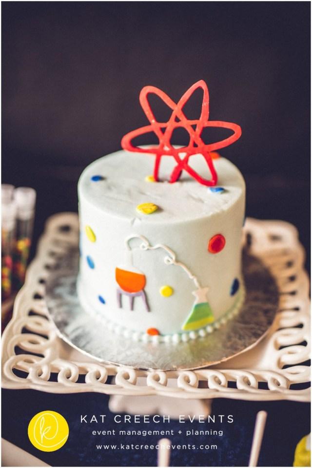 Science Birthday Cake Katcreechevents6 Wedding Planner Houston Texas Planning