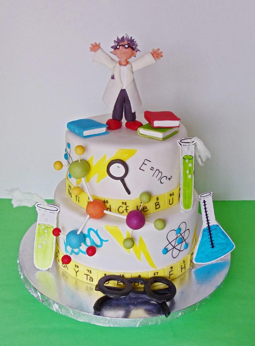 Science Birthday Cake Mad Scientist Cake Joys Cake Studio Kids Cakes Pinterest