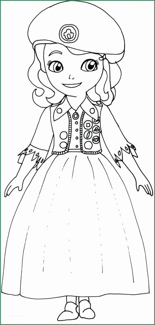 Sofia The First Coloring Page Fabulous Pictures Of Sofia The First Coloring Pages Coloring Pages