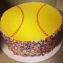 Softball Birthday Cakes Softball Birthday Cake Cakes And Cupcakes Softball Birthday